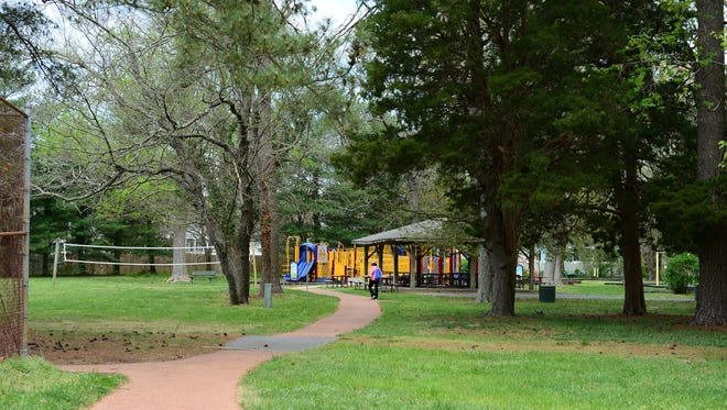 Stephen Decatur Park located in Berlin. Monday, April 17, 2017.