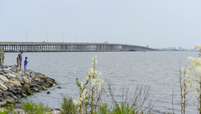 In this file photo, the Route 90 bridge is shown. A jet ski crash injured a 16-year-old boy Friday, July 21. The crash occurred north of the Route 90 bridge on the western shore around 2 p.m.