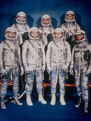 "The Mercury 7 astronauts will be key figures in ""The Right Stuff."""