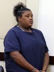 Antwana Smith, charged in the slaying of Treyonta Burleson,