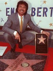 In 1989, Engelbert Humperdinck was awarded a star on