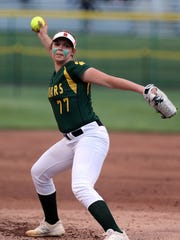 Montgomery senior ace Peyton Schnackenberg fired two-hitter to lead her team to the Somerset County title