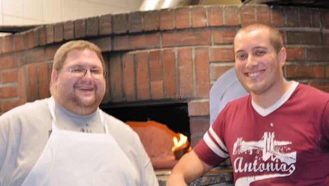 Jason Coppola, left, and Anthony Aurelio of Antonio's Brick Oven Pizzeria will be among the seven pizzerias participating in the Metuchen Pizza Throwdown! On Oct. 7 at Mt. Zion Lodge.