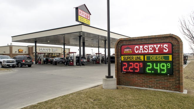Casey's focuses on clean restrooms to get customers to come back.