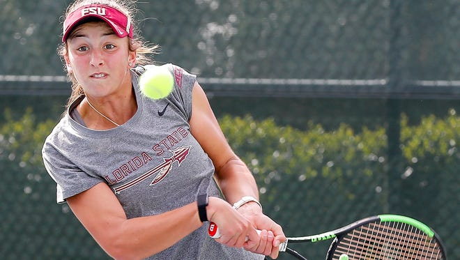 Petra Hule's 17 singles victories this season are the second-most among Seminoles.
