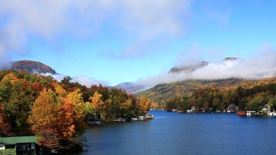 Lake Lure, North Carolina.