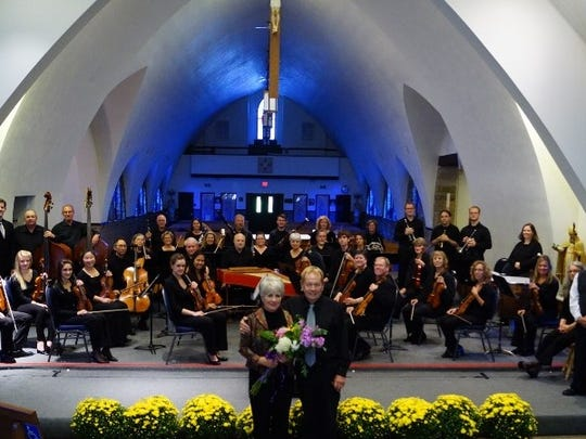 The Lexington Arts Council at the completion of their Bach Festival two years ago.