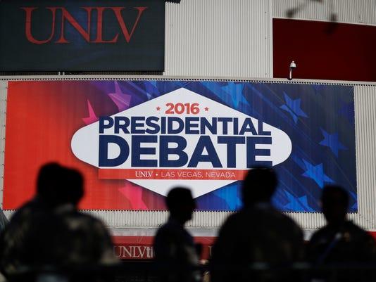 2016 Presidential debate promo image