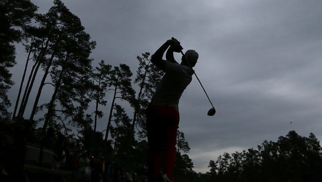 Sergio Garcia and the rest of the Masters field are expected to face cold and windy conditions for the first two rounds of the event.