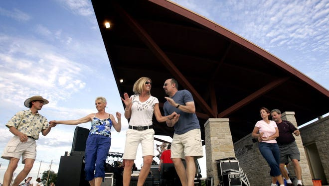 The Tosa Tonight concert series is held at the Rotary Performance Pavilion in Wauwatosa.