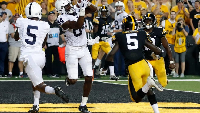 Many of the Wisconsin Badgers football players enjoyed their bye week by watching the Penn State at Iowa game on Saturday, which the Nittany Lions won on Juwan Johnson's touchdown reception as time expired.