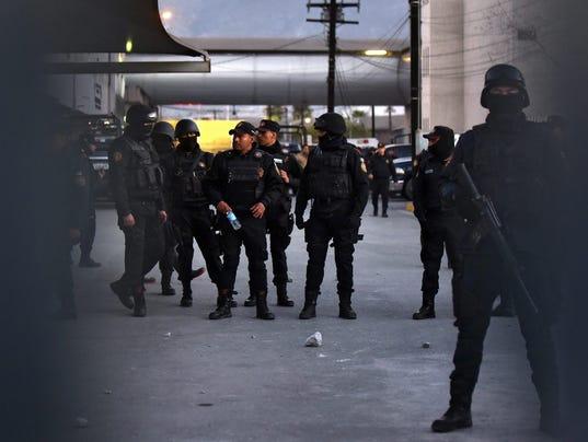 EPA MEXICO PRISON RIOT CLJ PRISON MEX NU