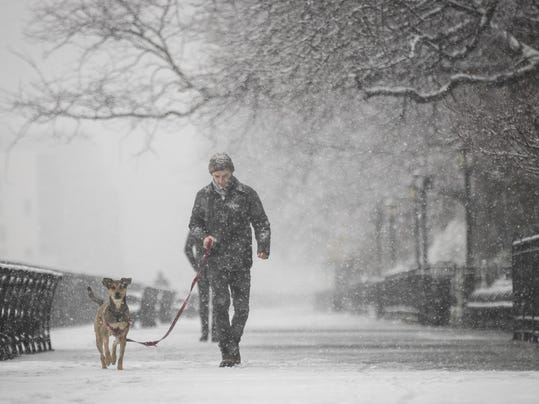 New York City Hit With Unusual April Snow