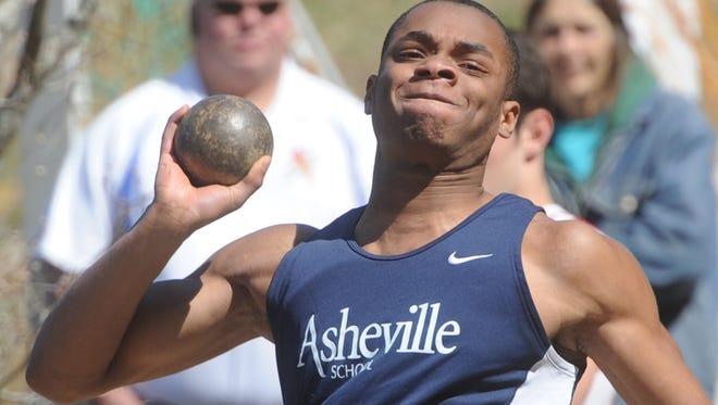 Asheville School won Wednesday's Carolinas Athletic Association boys and girls track championships.