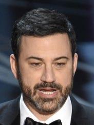 Late night talk show host Jimmy Kimmel accepted U.S.