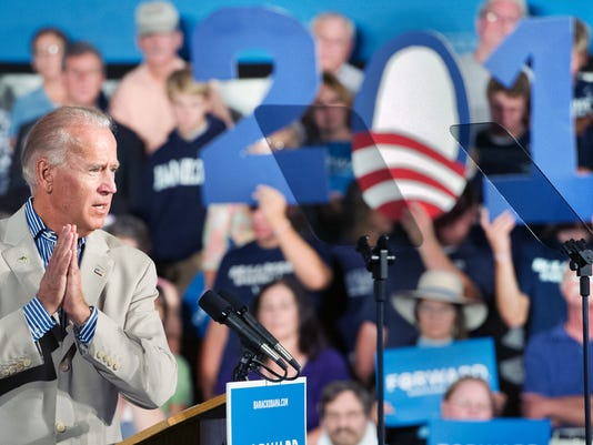 Vice President Joe Biden at West York Area High School in West Manchester Township September 2, 2012