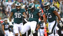 The three-time Pro Bowl selection sets the tone up front for Philadelphia's defense, which ranks No. 1 against the run.