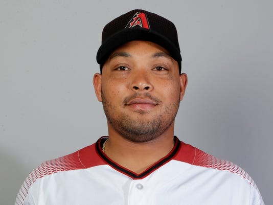 This is a 2018 photo of left fielder Yasmany Tomas of the Arizona Diamondbacks baseball team. Tomas cleared waivers and was assigned outright to Triple-A Reno by the Diamondbacks, who are responsible for the $42.5 million he is owed in the remaining three seasons of a $68 million, six-year contract. (AP Photo/Carlos Osorio)