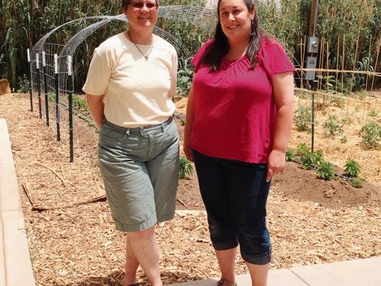 Fiona Bailey and Emily Aversa, co-founders of a proposed charter school, are working to bring Enki Education to Silver City. They will have a table at Saturday's Jump Into Summer in Gough Park. Shannon Seyler - Sun-News