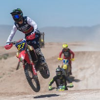 Racers blast through the dirt in off-road championship
