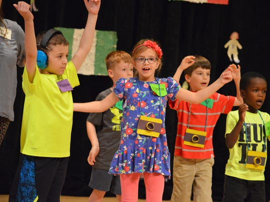 Young campers at a past summer program at The Hochstein School of Music & Dance in Rochester. The school's summer programming runs from July 9 to Aug. 17.