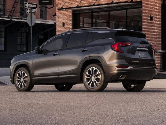 2018 All-New GMC Terrain SLT