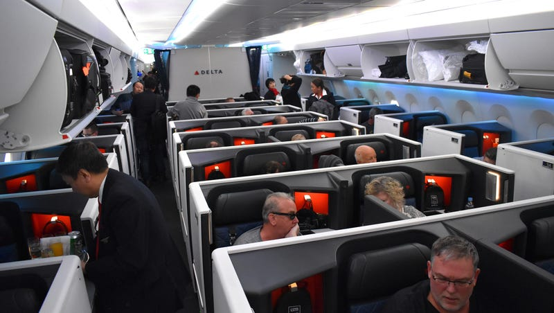 Trip report: Reviewing the Delta One Suite with sliding