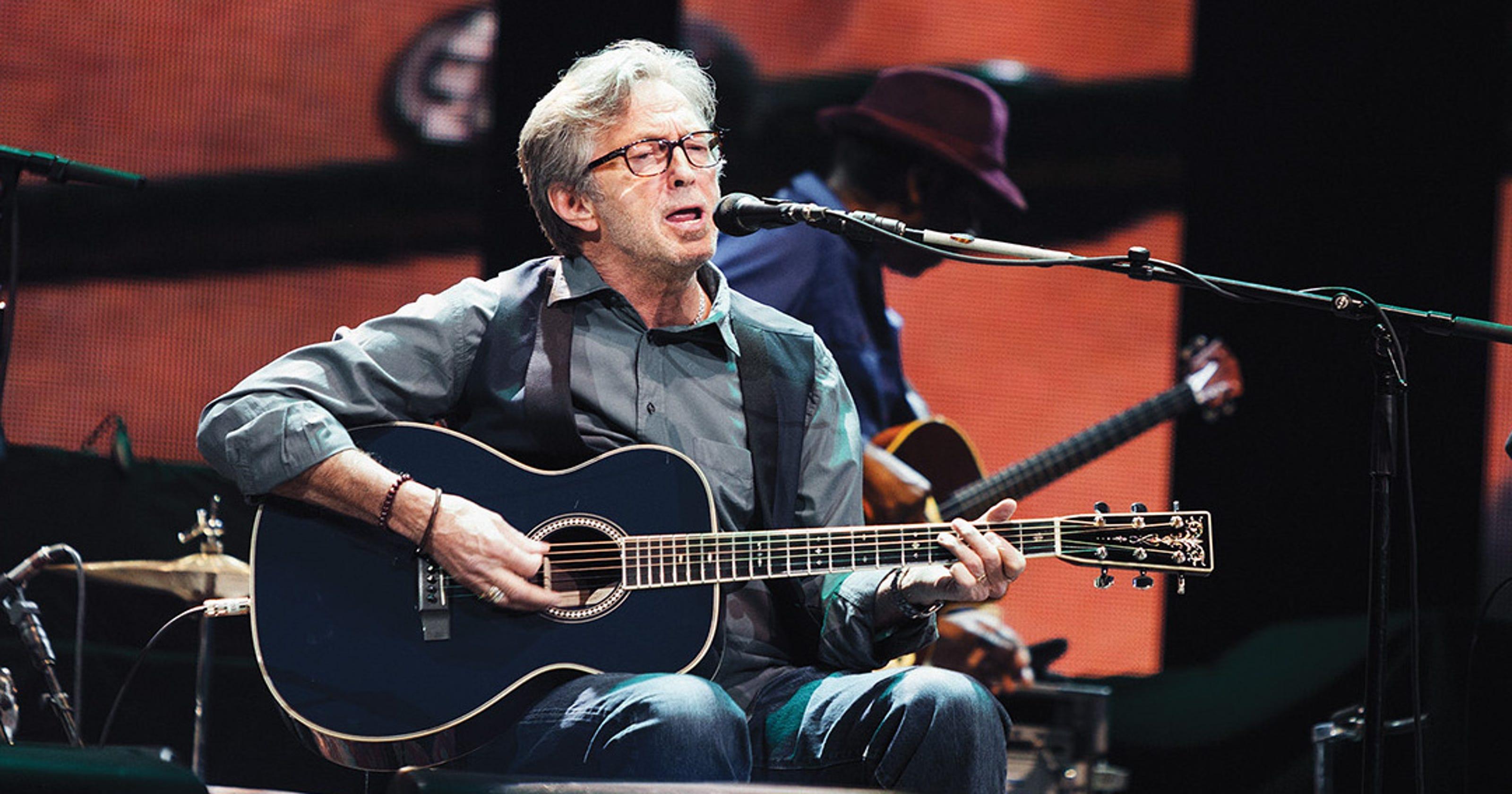 Video premiere: Eric Clapton's live 'Tears in Heaven'