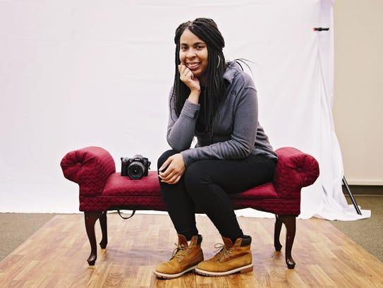Photographer Christina Smith   has a portrait studio