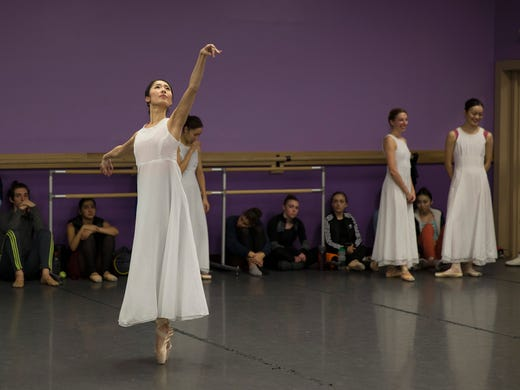 On stage with the Atlantic City Ballet's 'The Nutcracker'