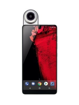 Essential phone and optional 360 camera