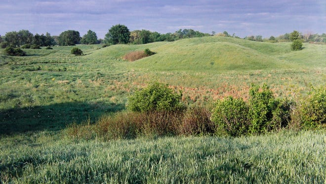 Lillian Williamson, one of the early bidders for the land that would become Erin Hills, took this photo of the property when it was pasture and farmland in the 1990s.