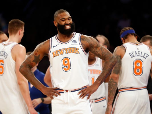 NBA: San Antonio Spurs at New York Knicks