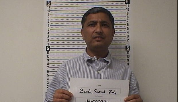 A District Court judge on June 20 found Dr. Sarad Baral not guilty on charges of fourth-degree sex offense and second-degree assault.