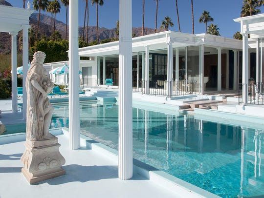 Hearst estate in Palm Springs designed by architect