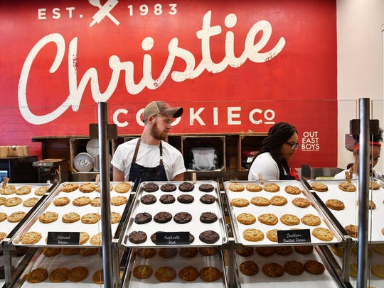 Employees at Christie Cookie, the beloved 35-year-old