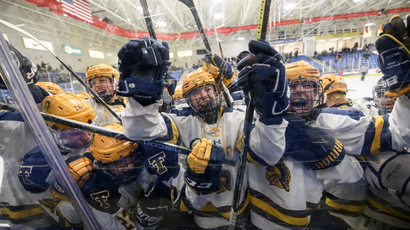 Trenton edges Brother Rice in Division 2 hockey semifinals