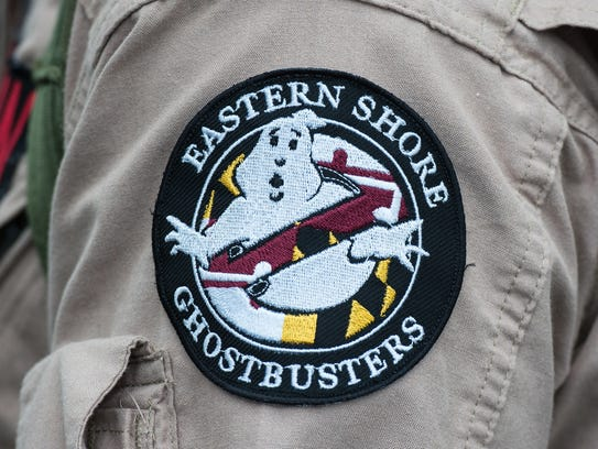 A view of the Eastern Shore Ghostbusters patch on Tuesday,