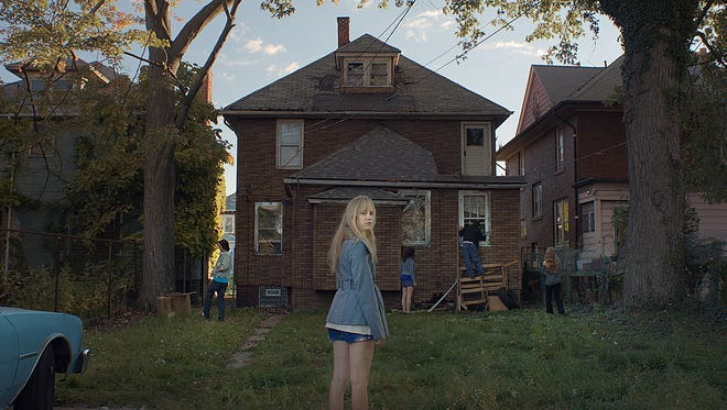 """Jay (Maika Monroe) is stalked by a strange supernatural force in """"It Follows."""""""
