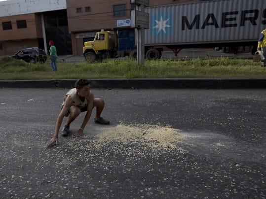 APTOPIX Venezuela Hunger Crisis