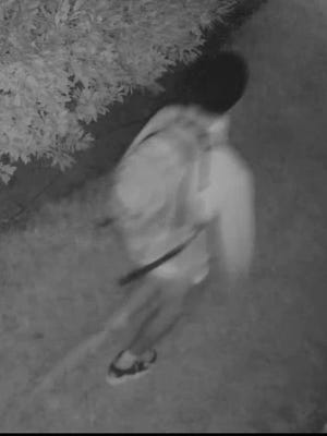 Middletown Police are looking for this man, who they believe has exposed his genitals to women at least four times over the past few months.