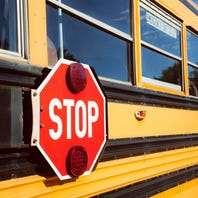 School bus crashes with students aboard, no injuries reported