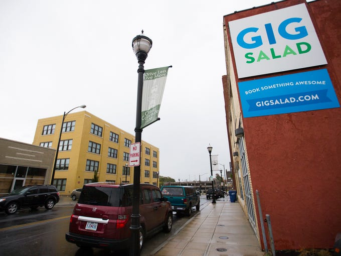 The GigSalad offices on East Olive Street in downtown