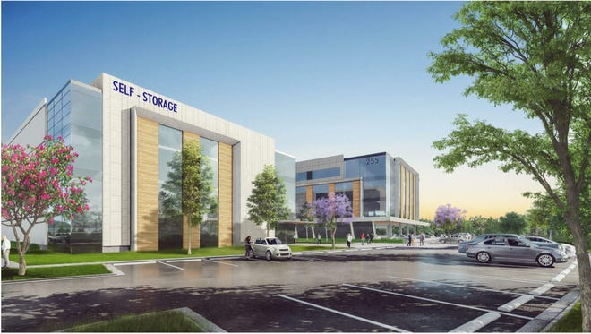 Rendering of Bell Office Park in Brentwood