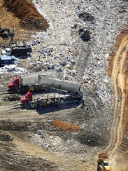 Middle Point Landfill in Murfreesboro handles its share