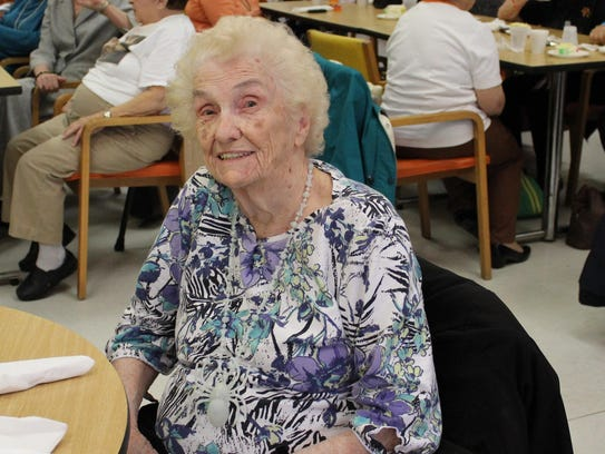 Rita Smith celebrated her 98th birthday on Monday.