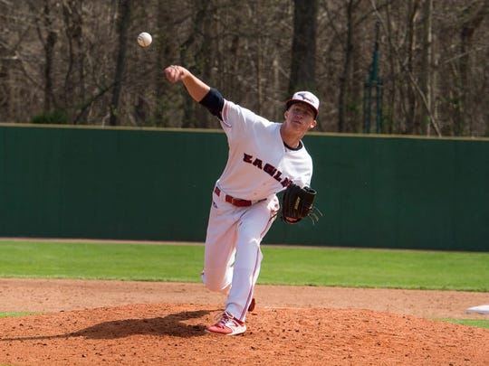 USI senior Lucas Barnett has a team-best 2.18 earned-run average for a pitching staff that ranks 10th nationally with a 3.17 ERA.