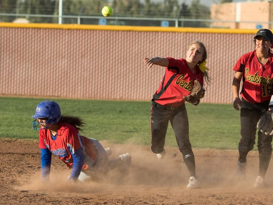 Centennial's Janai Gutierrez will be one of many key returners for the Hawks next season.