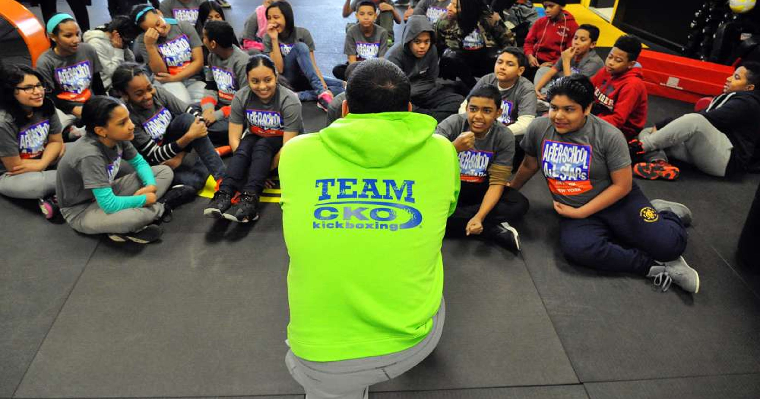 Kids kick it into gear at CKO Kickboxing in Wayne