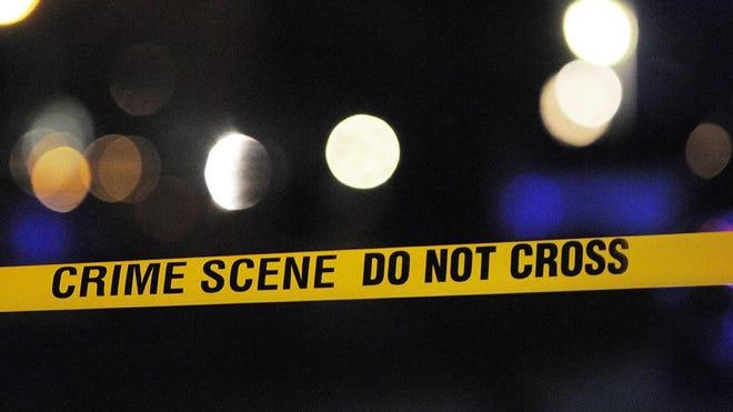 Crime tape.